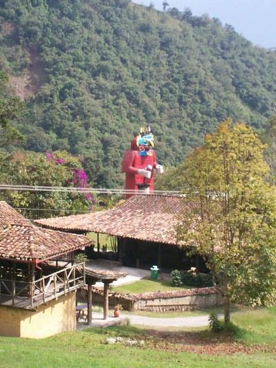Parque temático La Venezuela de antier.